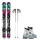 Pack Ski Minime fille