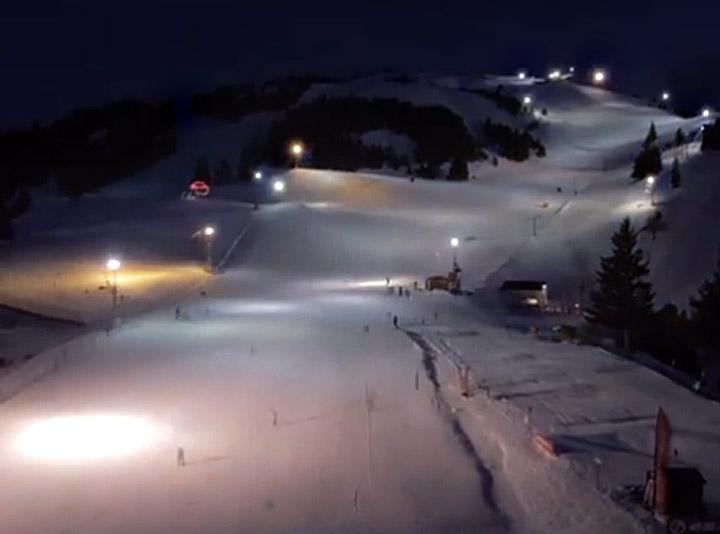 ski de nuit a chabanon